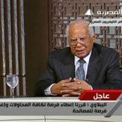 Beblawi incarne l'état d'urgence en Égypte