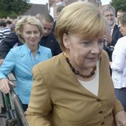 Angela Merkel se rend à Dachau