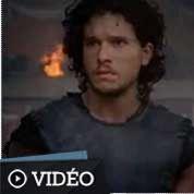 Jon Snow tout feu tout flammes dans Pompeii