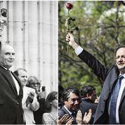 Hollande à l'ombre de Mitterrand