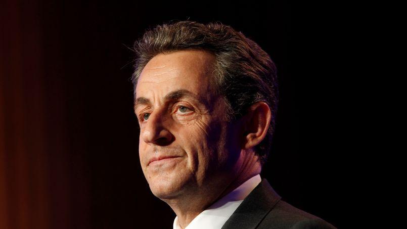 Nicolas Sarkozy pendant la campagne présidentielle, en mars 2012, à Rueil-Malmaison.
