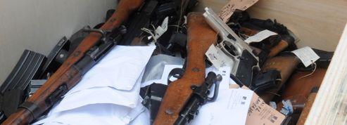 La répression des trafics d'armes à feu s'accentue