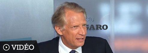 Villepin : «Le dossier syrien est un rendez-vous essentiel pour Hollande»