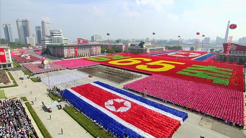 parade militaire g233ante pour les 65 ans de la cor233e du nord
