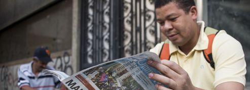 À Caracas, le manque de papier empêche les journaux de sortir