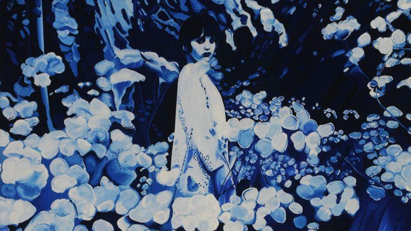 <i>Velvet Jungle n°1</i> d'après Jacques Monory/Tapisserie des Gobelins, 2012.