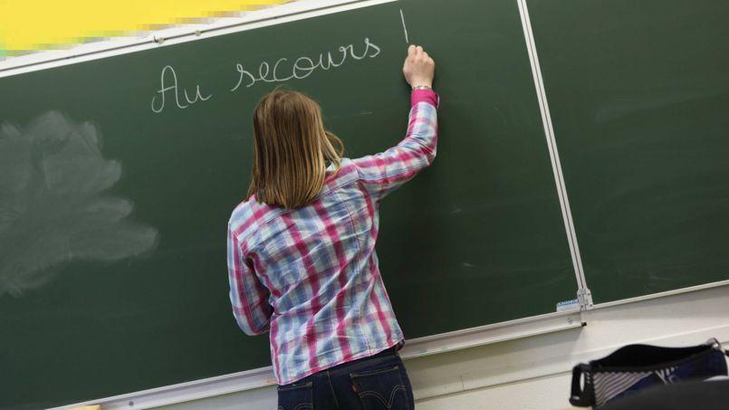 La France compte 859.294 enseignants pour un peu plus de dix millions d'élèves.