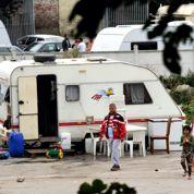 Démantèlement d'un camp de roms à Lille