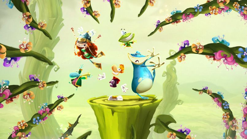 Liste personnages rayman legends