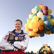370 ballons pour traverser l'Atlantique