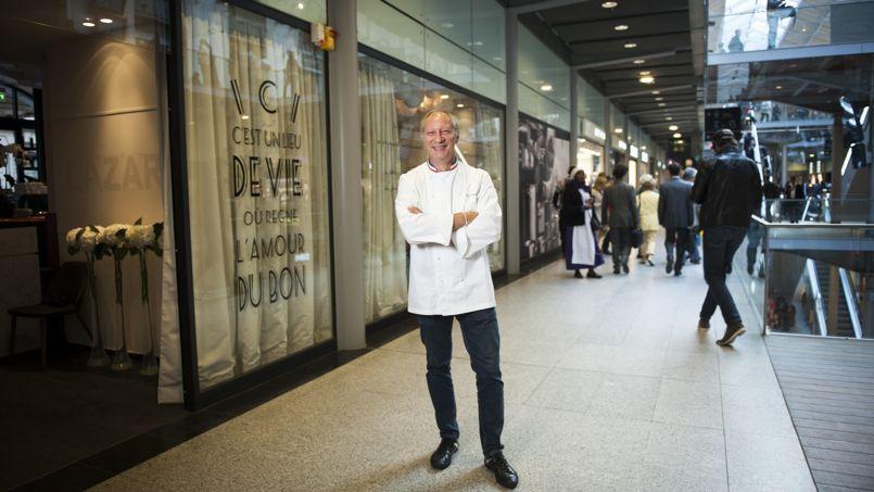 Avec lazare ric frechon sur de nouveaux rails - Restaurant gare saint lazare ...