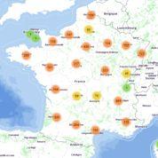 Journées du patrimoine La carte de France