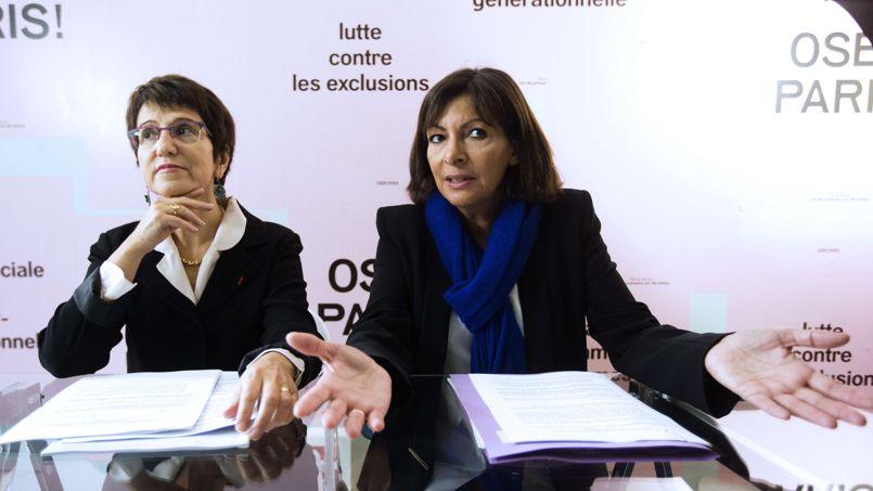 Paris: Hidalgo et Versini présentent leur plan contre la précarité des enfants