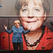 Angela Merkel portée par le miracle allemand