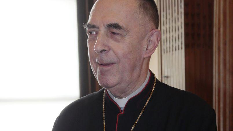 Mgr Claude Dagens, évêque d'Angoulême et membre de l'Académie Française.