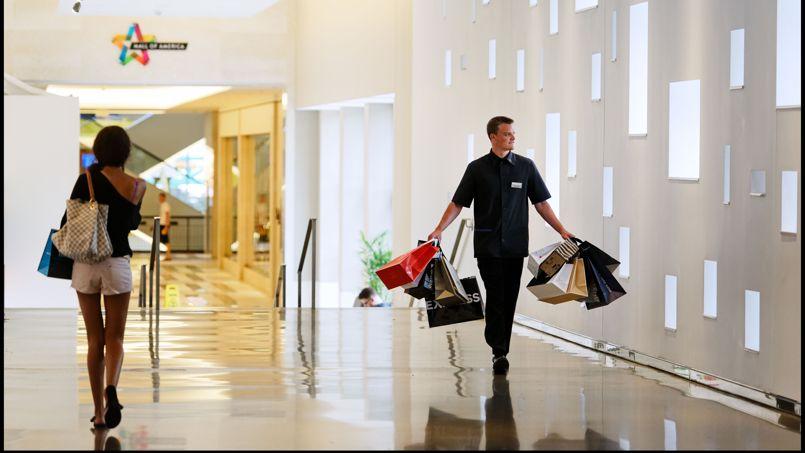 le mall of america 42 millions de clients par an. Black Bedroom Furniture Sets. Home Design Ideas