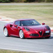 L'Alfa Romeo 4C entre en piste