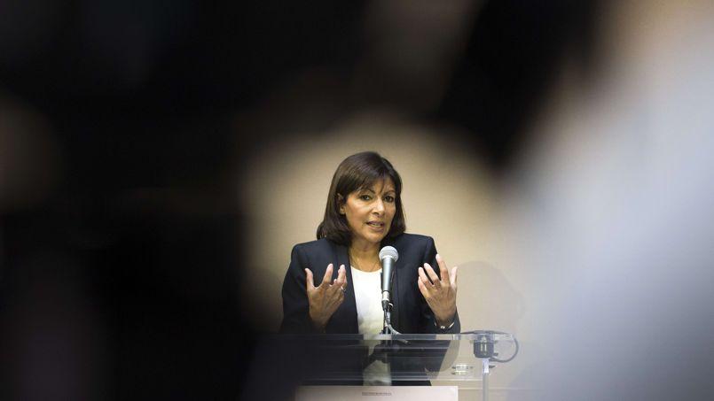 Anne Hidalgo, la candidate PS à la mairie de Paris.