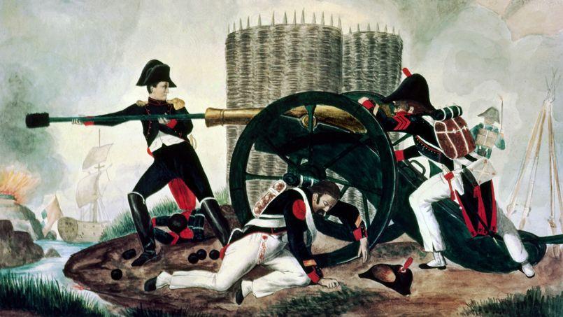 C'est face auxAnglais au siège deToulon, en1793, que Bonaparte apparaît tel qu'ilnecessera plusd'être: un chef hors ducommun.