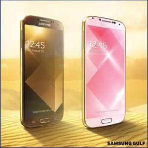 Samsung : un Galaxy S4 doré et bientôt un smartphone à écran courbe