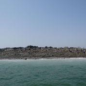 Une île surgie des flots au Pakistan