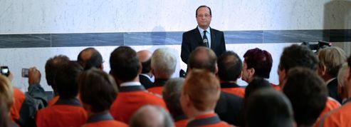 François Hollande tente d'apaiser Florange