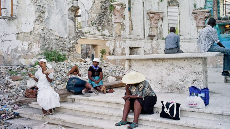 Haïti, l'île martyre