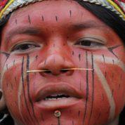 Les indigènes mobilisés à Brasilia