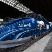 Allianz s'offre un tour de France en TGV