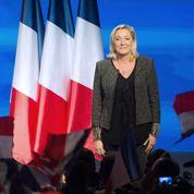 La cote de Marine Le Pen s'envole