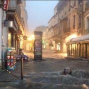 Pluies torrentielles dans le Languedoc-Roussillon