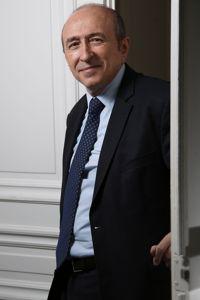Gérard Collomb, maire PS de Lyon, sénateur du Rhône.  Crédits photos: HAMILTON/REA