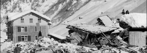 1951, avalanches dans les Alpes