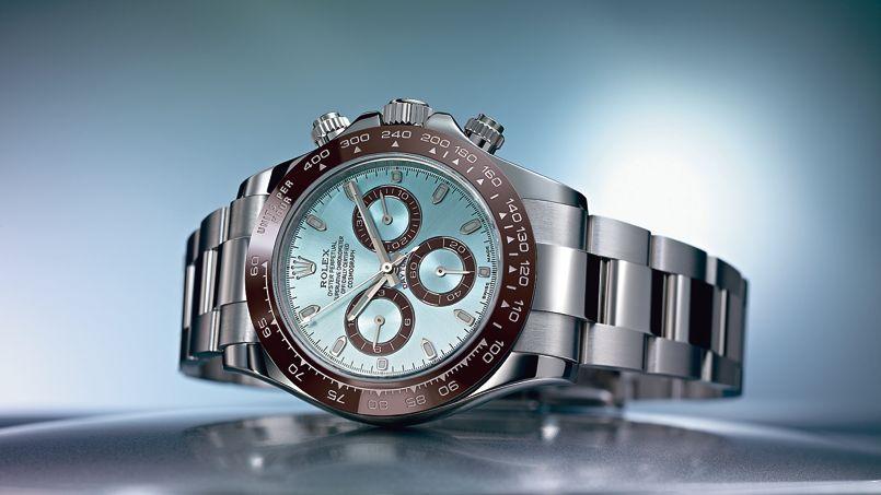 Sorti en 2013, le modèle Rolex en platine.