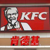 KFC bat de l'aile en Chine