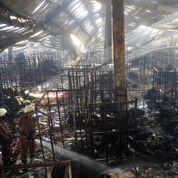 Incendie dans une usine textile au Bangladesh