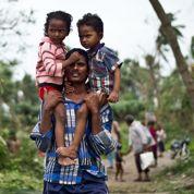 L'Inde a résisté au cyclone Phailin