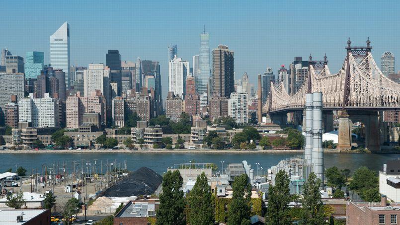 New York, vue de Queens
