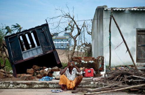 Cyclone en Inde, le retour des évacués