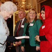 Quand Malala rencontre la Reine d'Angleterre