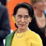 Aung San Suu Kyi reçoit son prix Sakharov