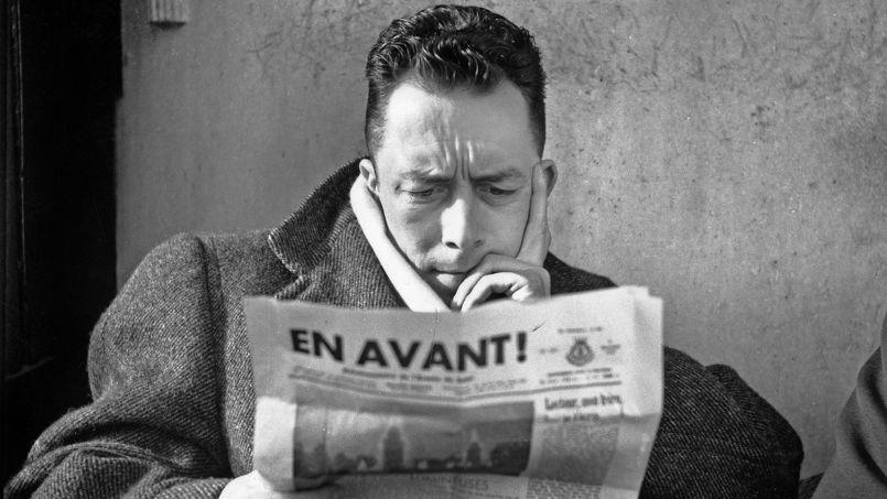 Romancier, essayiste,homme de théâtre, journaliste: Albert Camus (icien 1945) auraiteu centans le7novembre 2013.
