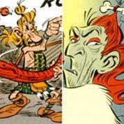 Astérix: Hallyday et Cassel dans la légende