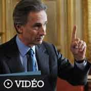 Quai d'Orsay :Lhermitte bouillonnant Villepin