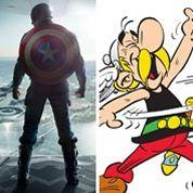 Captain America , un Astérix américain