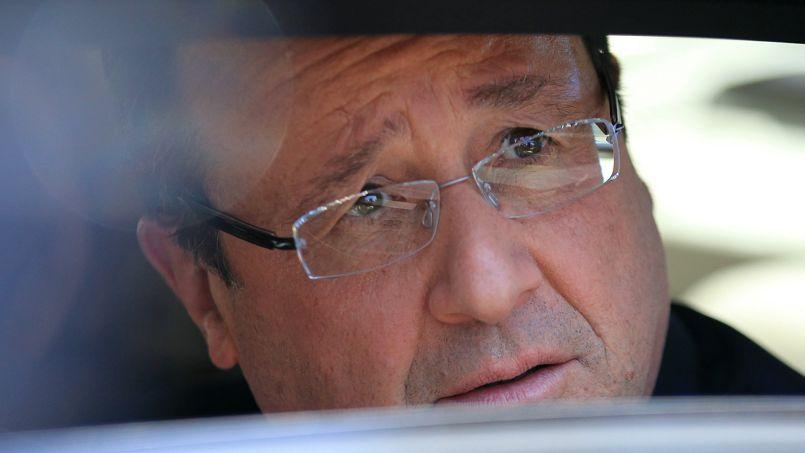 François Hollande, ce lundi.