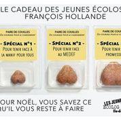 La campagne des jeunes écolos contre Hollande