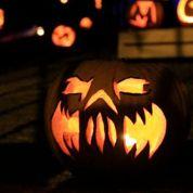 Derrière le masque d'Halloween