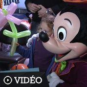 Disney fête Halloween à l'hôpital Necker