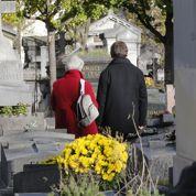 Les cimetières sont moins fleuris